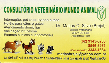 Consultório Veterinário Mundo Animal